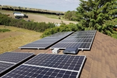 11.2 KW Grid-Tie Rooftop Solar Panel System installed by Half Diamond R Electric