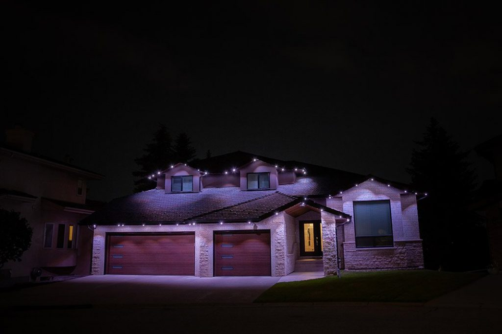 Customized, permanent year-round lights for all occasions with Gemstone Lights